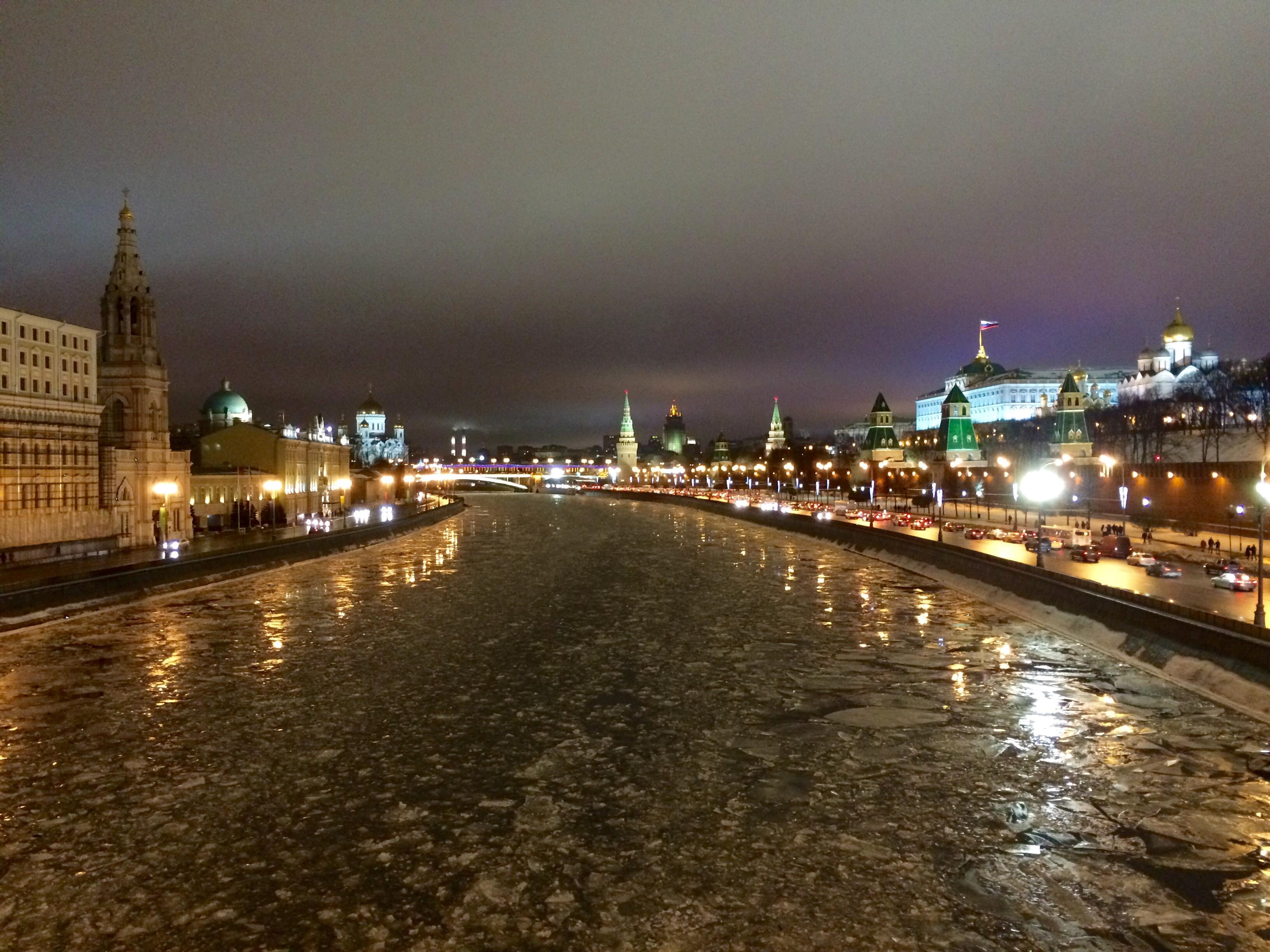 Moskva winter russia Moskow