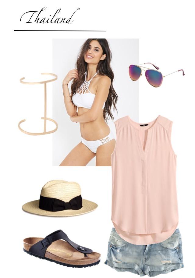 Strand Beach Outfit Thailand 2015