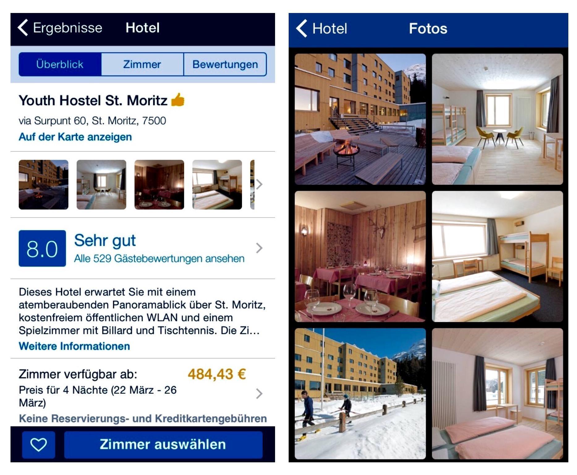 Reisen St. Moritz günstig preiswert Sparfuchs übernachten Tipps Tricks Skiurlaub