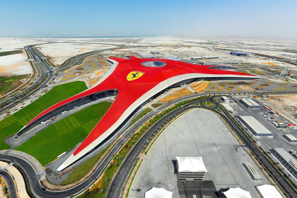 Ferrari World Abu Dhabi Top 5 Theme Parks