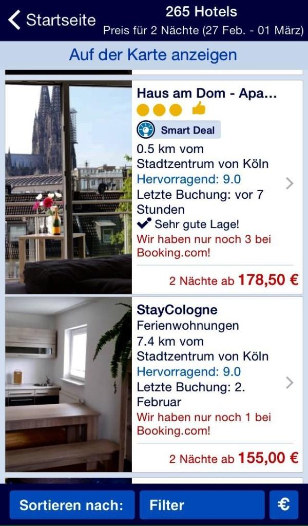 Hotel Köln günstig Tipps