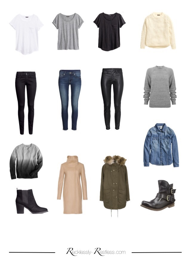 My Capsule Wardrobe Essentials 2015