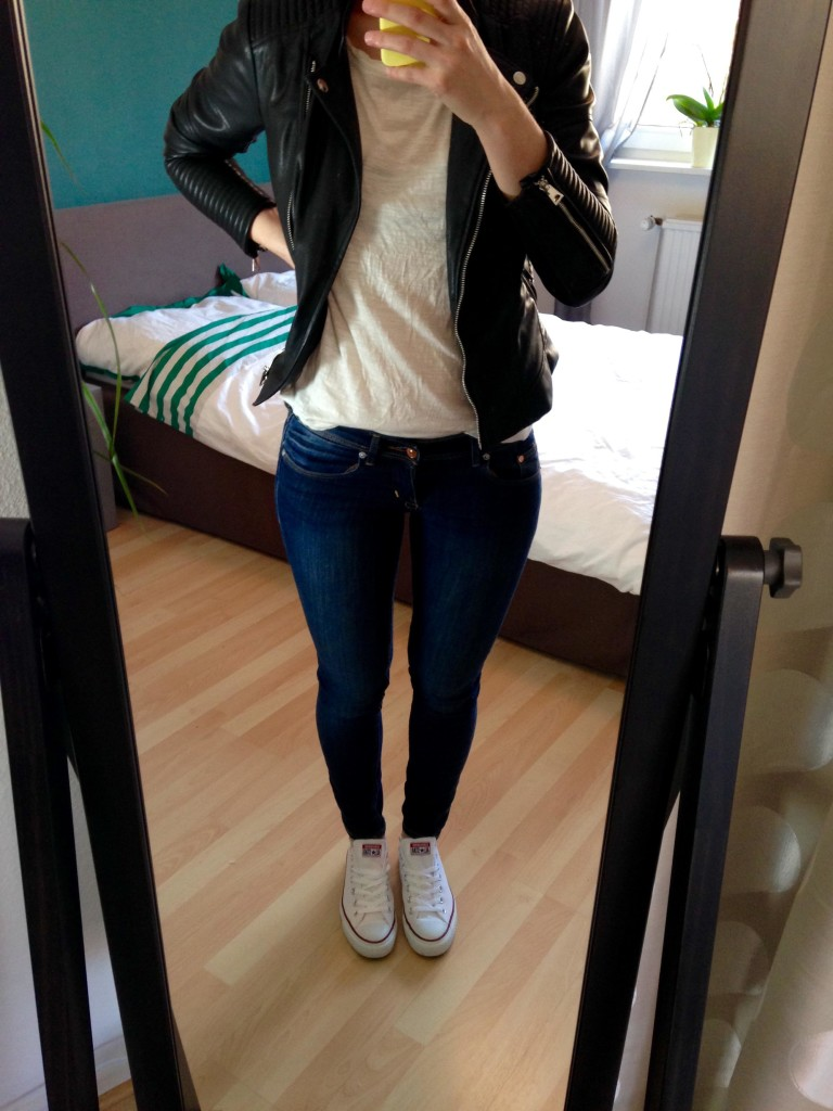 Outfit Spring Capsule Leatherjacket