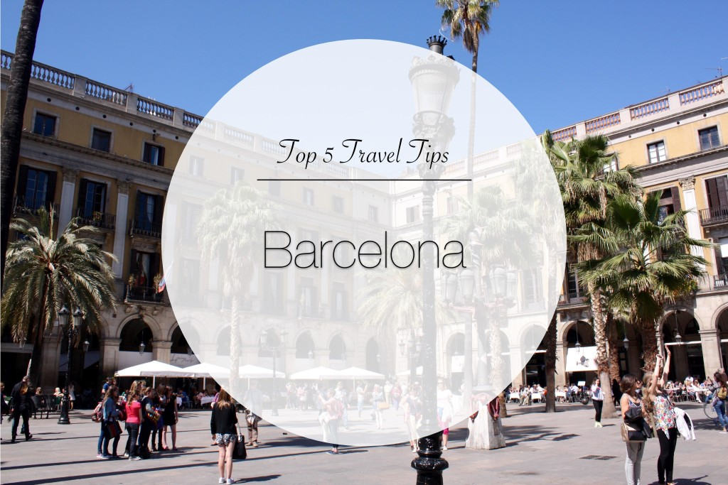 Top 5 Barcelona - Where to stay, eat and drink