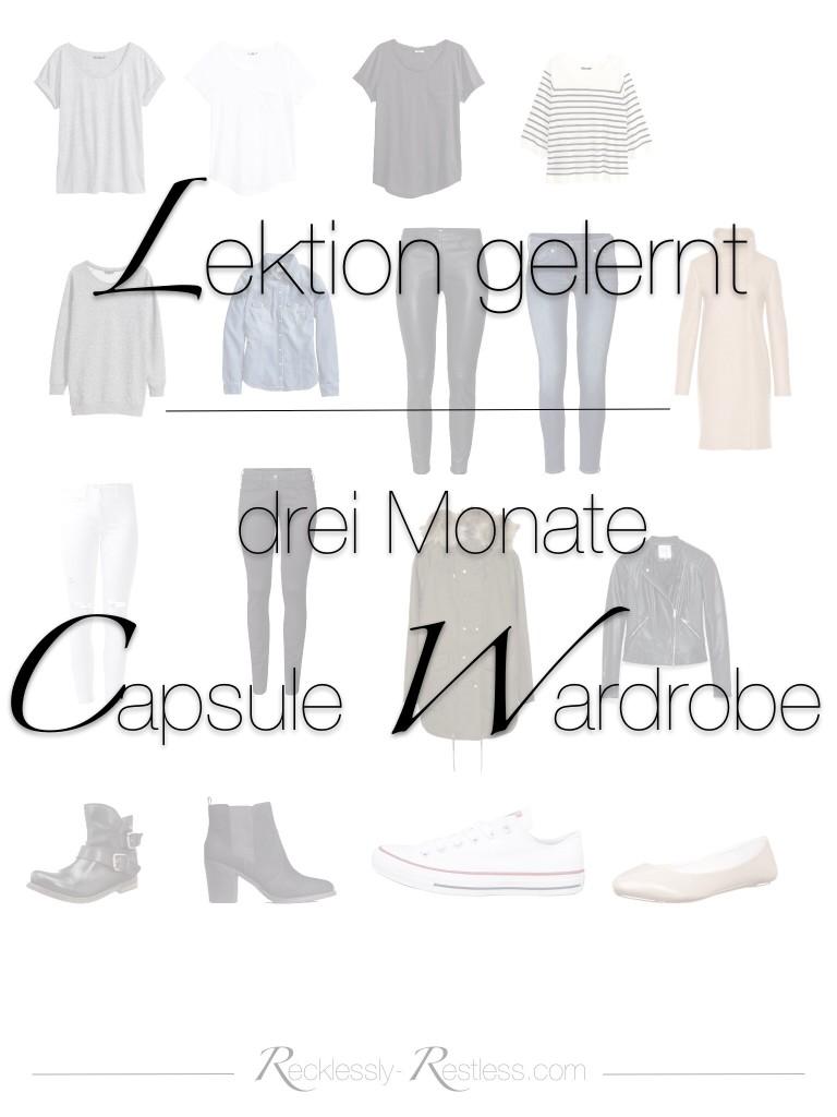 Capsule Wardrobe Tipps
