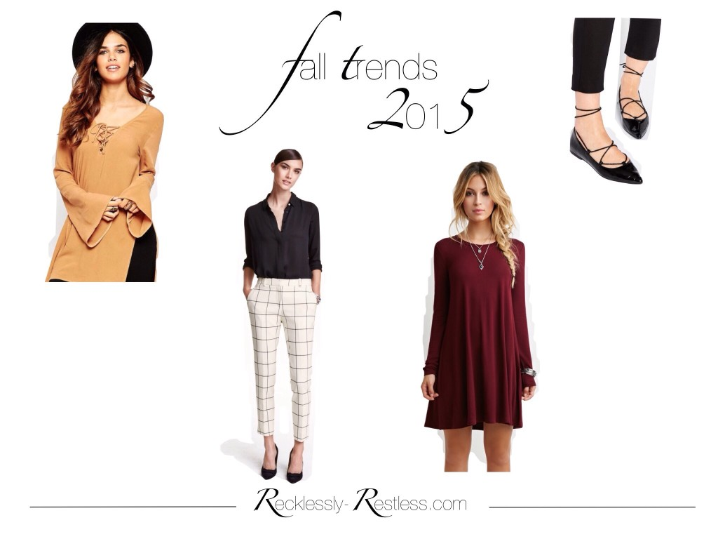 Fashion Trends Herbst 2015