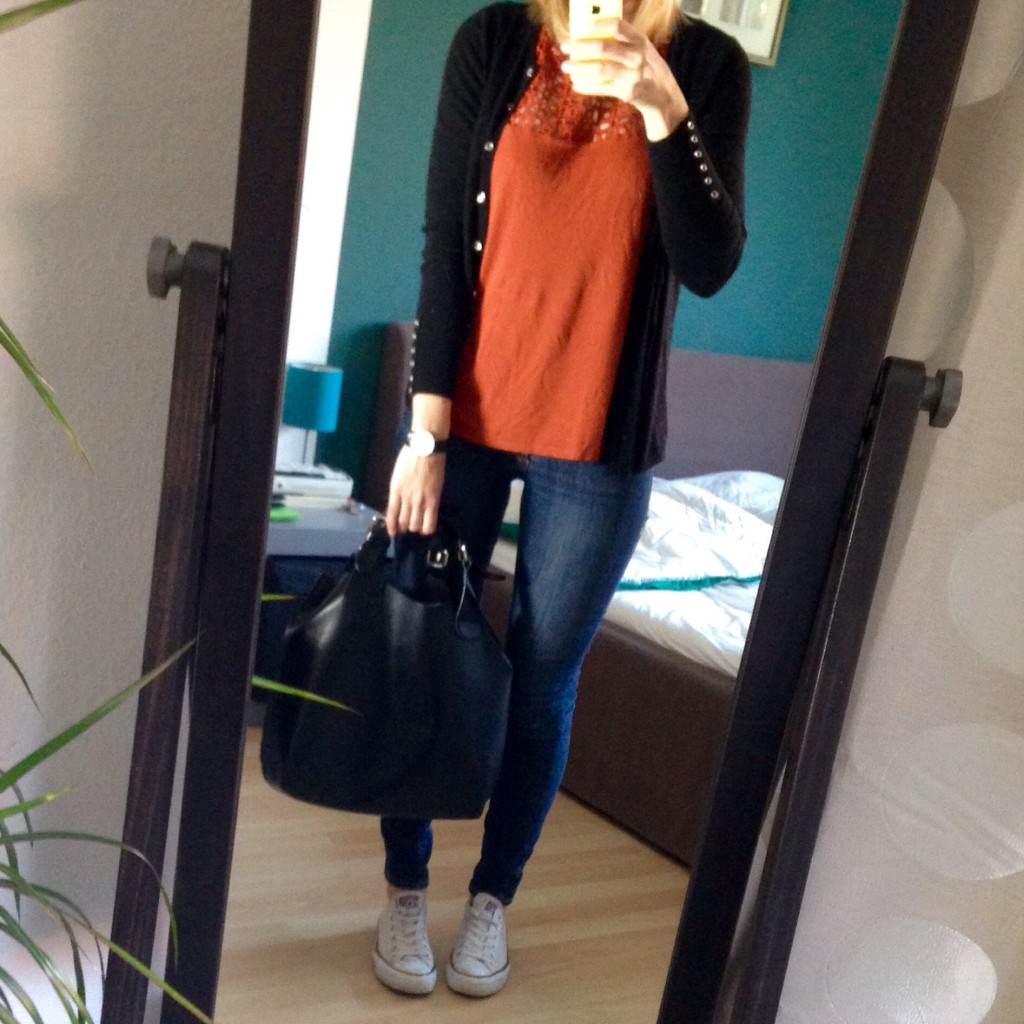 Herbst Outfit 2015 - Rost Rot
