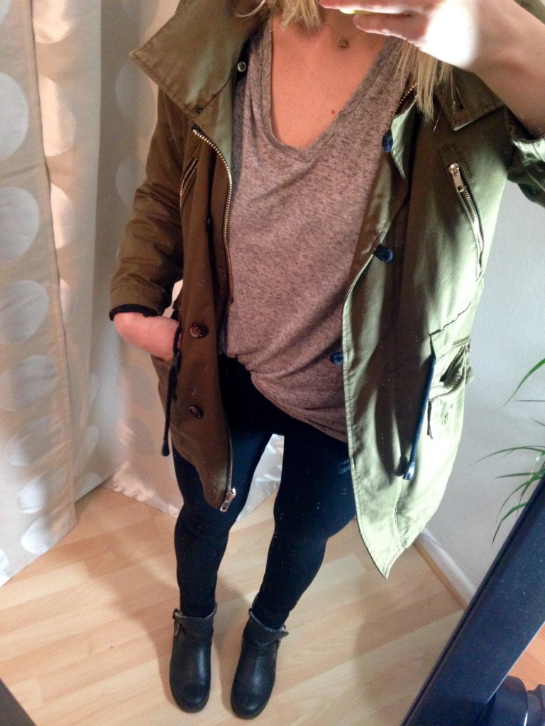 Parka Fall Outfit 1