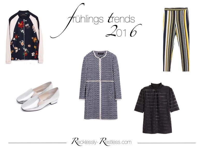 Frühlingstrends 2016 - 5 tragbare Trends für den Frühling 2016