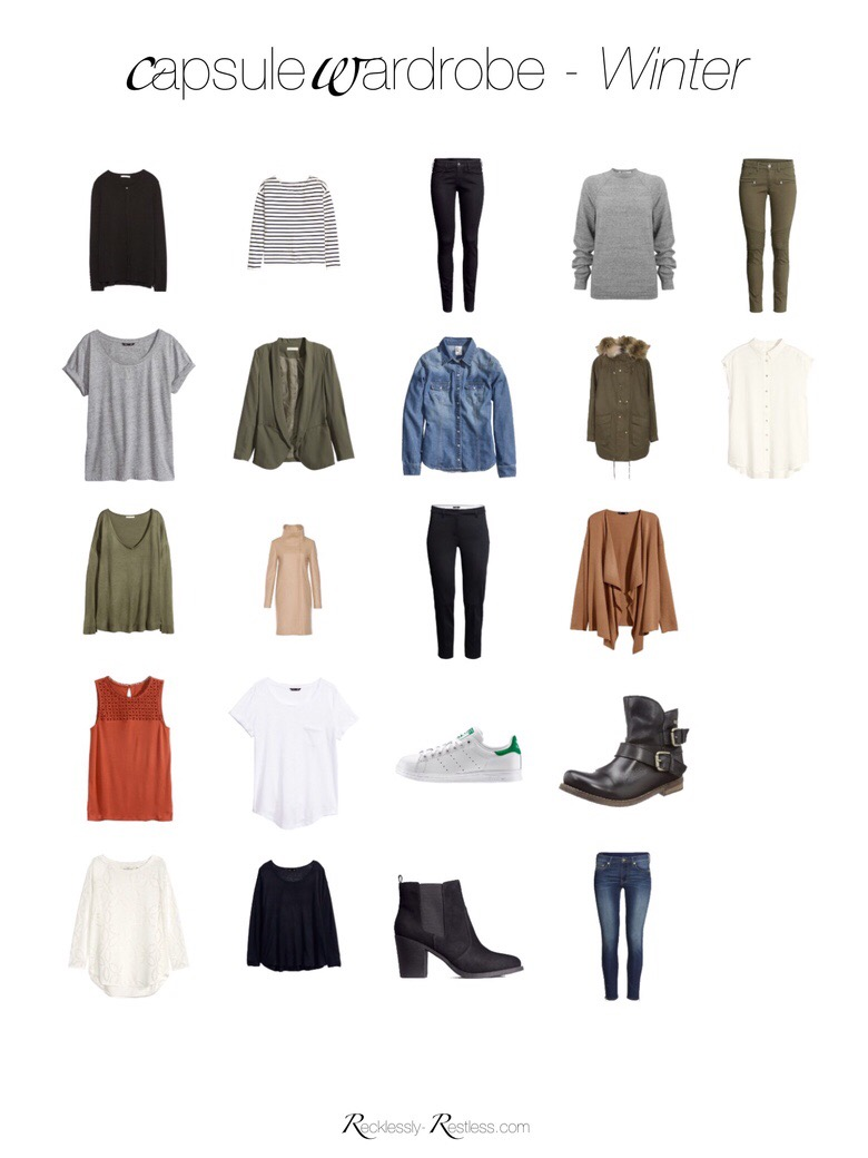 Capsule Wardrobe Winter 2016
