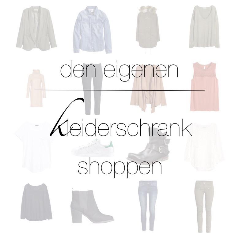 Den eigenen Kleiderschrank shoppen - und das