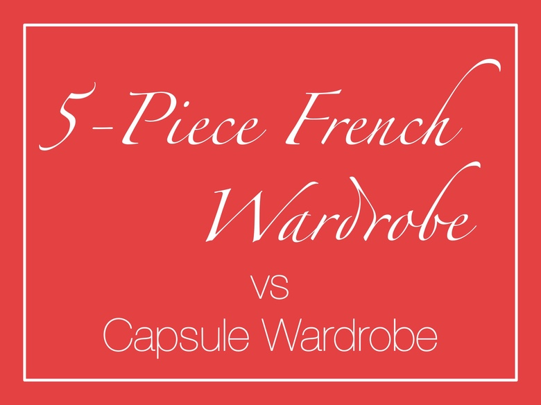 5-Piece French Wardrobe deutsch Erklärung