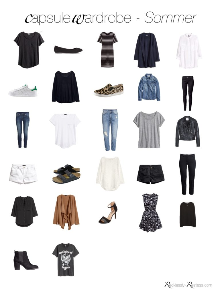 Capsule wardrobe sommer 2016 recklessly for Trend minimalismus