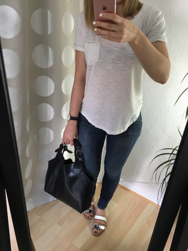 Jeans TShirt Sommer Outfit