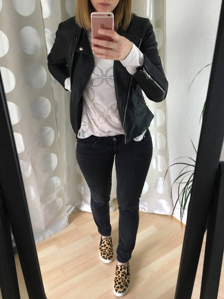 Leo Slip On Sneaker Outfit