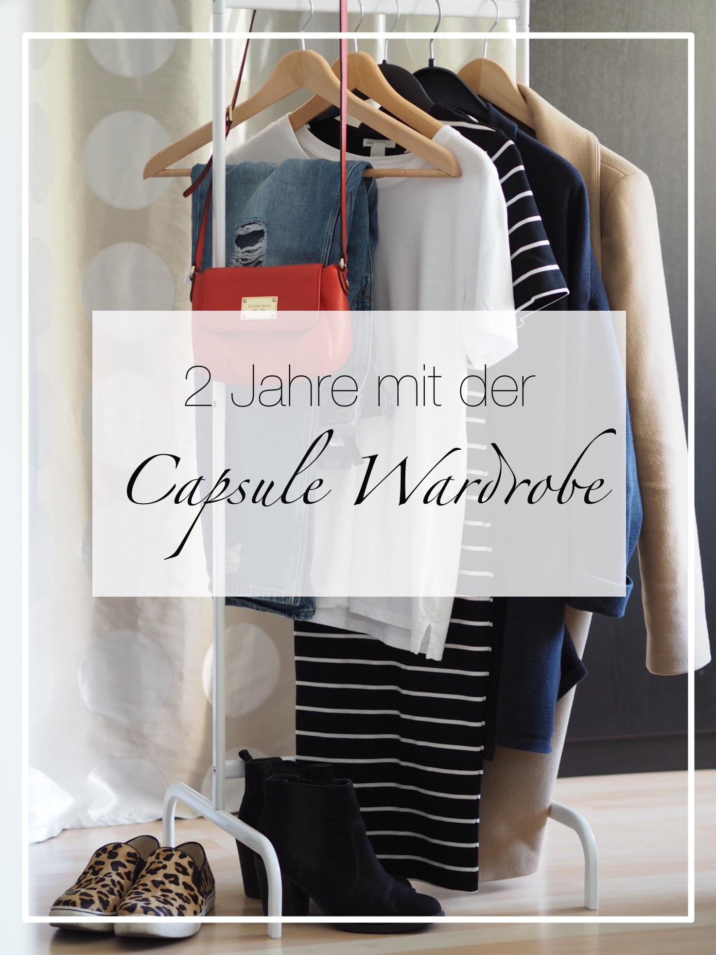 Warum ich auch nach 2 Jahren mit der Capsule Wardrobe noch nicht genug habe?!