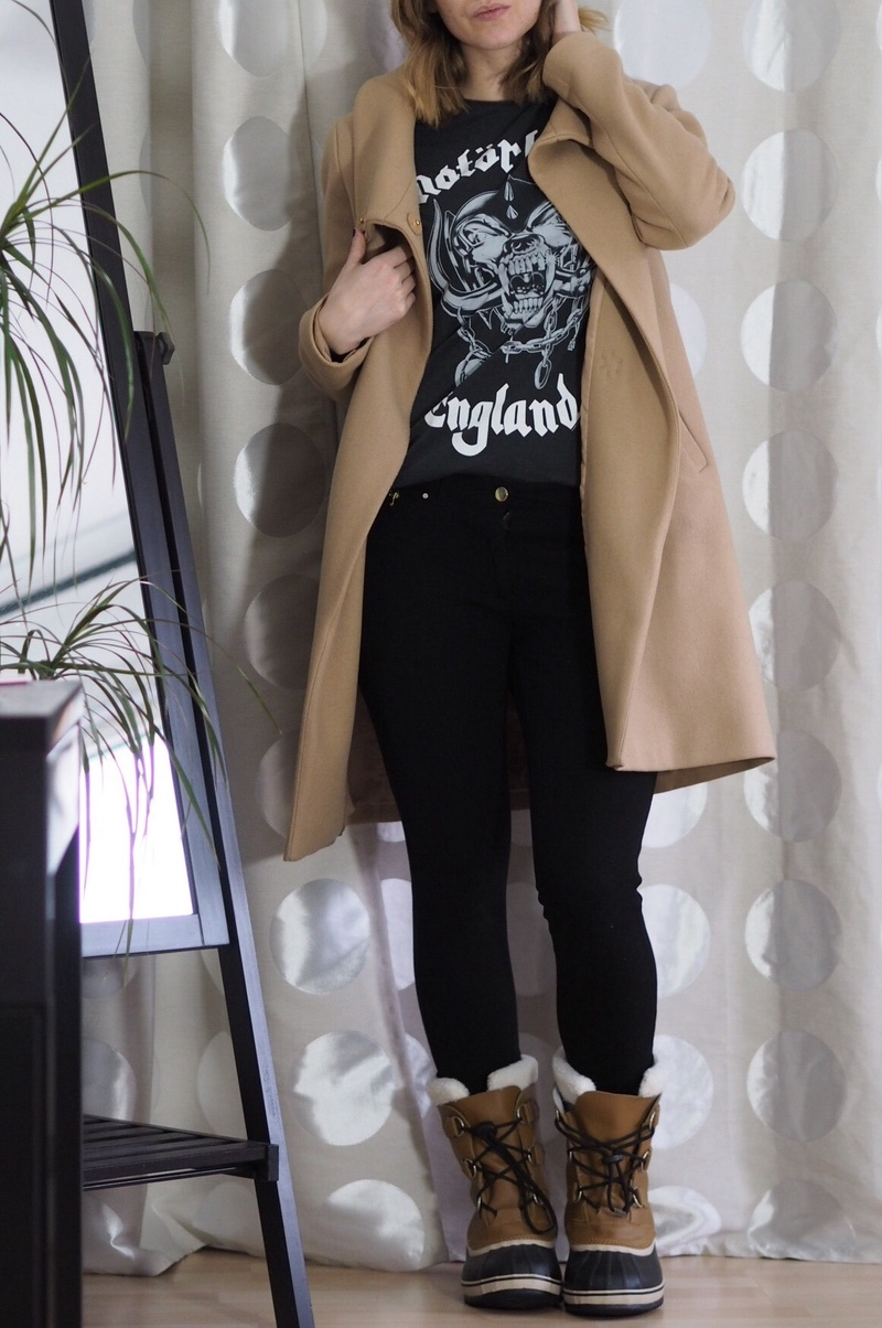 Winter Boots Bandshirt Modeblogger Sorel Boots Outfit