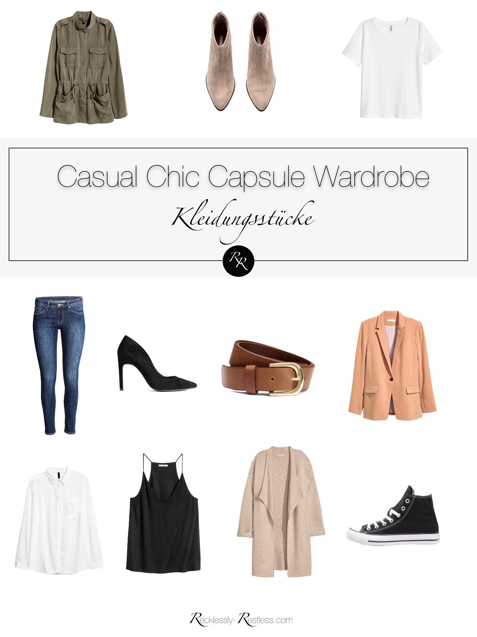 Casual Chic Look: Wie der lässige Stil funktioniert