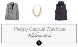 Preppy Style Frau-Kleidungsstil-preppy-modestil