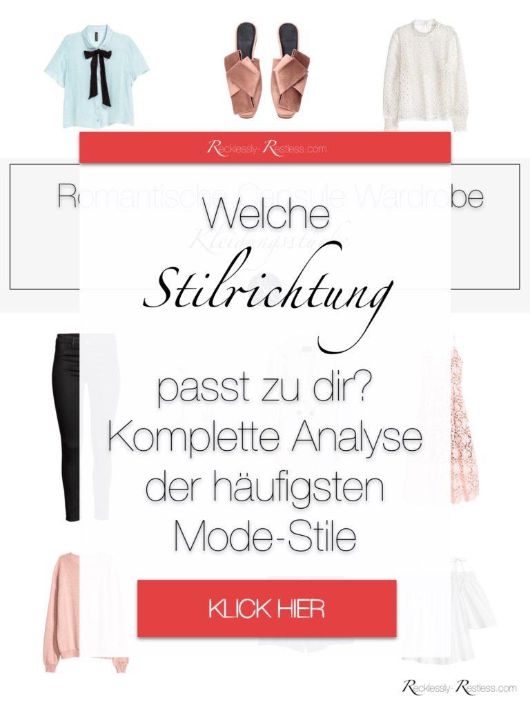 Kleidungsstil Übersicht Modestil Arten