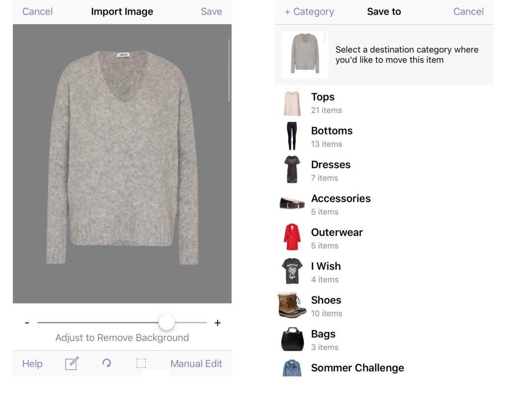 outfits zusammenstellen app