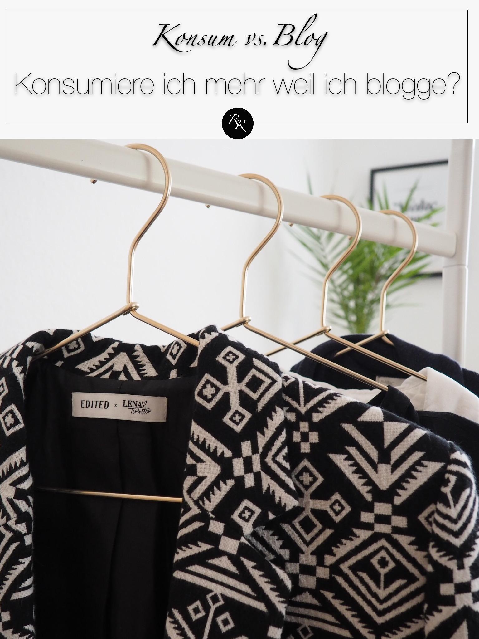 bloggen vs konsumieren - kaufe ich mehr weil ich blogge