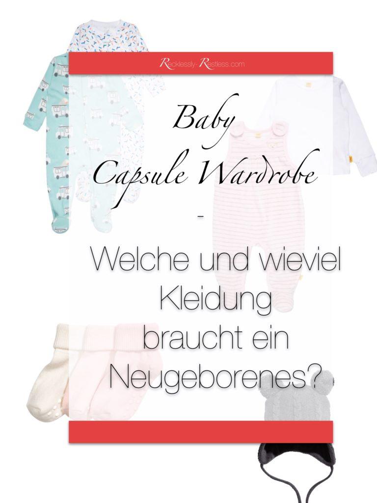 Baby Erstaustattung Kleidung Liste